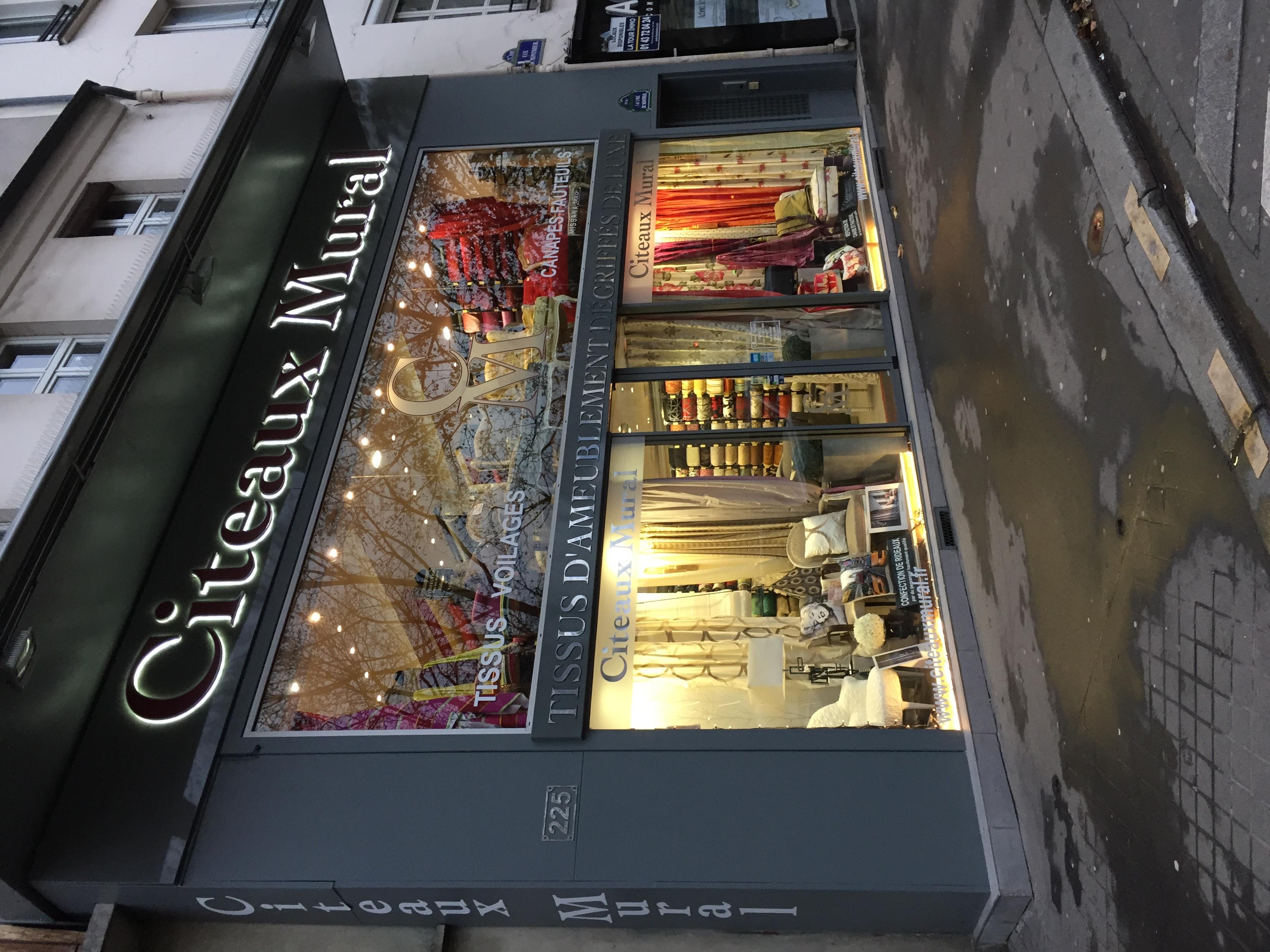 Acheter rideaux paris citeaux mural 01 43 79 01 43 acheter des rideaux paris - Ou acheter ses rideaux ...