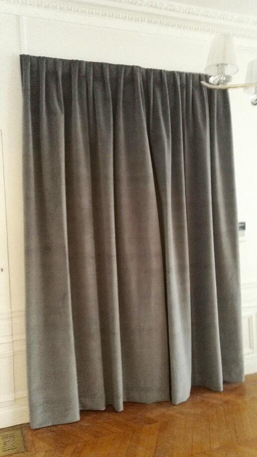 tissus pour rideaux citeaux mural 01 43 79 01 43. Black Bedroom Furniture Sets. Home Design Ideas
