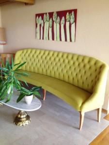 Rénovation canapé